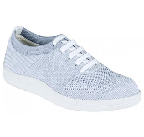 5450-686 Berkemann ComfortKnit Allegra Schuh grau/weiß Größe 3 - 8,5
