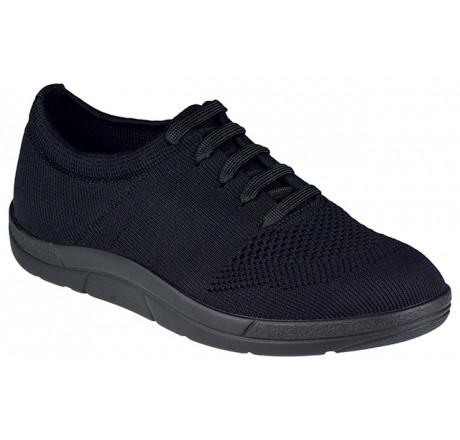 5450-999 Berkemann ComfortKnit Allegra Schuh schwarz Größe 3 - 8,5
