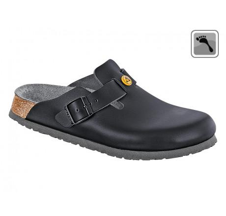 061368 BIRKENSTOCK ESD BOSTON Sandale schmale Weite schwarz Größe 36 - 42
