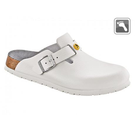 061370 BIRKENSTOCK ESD BOSTON Sandale normale Weite weiß Größe 39 - 48