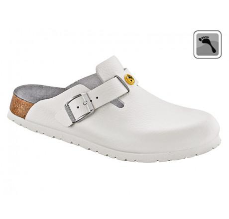 061388 BIRKENSTOCK ESD BOSTON Sandale schmale Weite weiß Größe 36 - 42