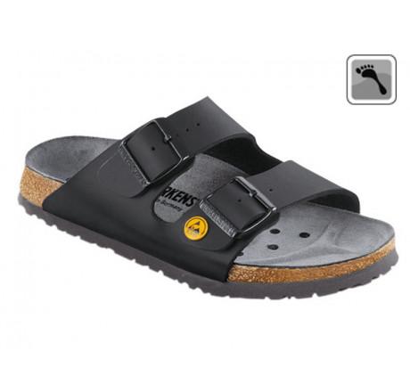 089418 Klein BIRKENSTOCK ESD ARIZONA Sandale schmale Weite schwarz Größe 35 - 46