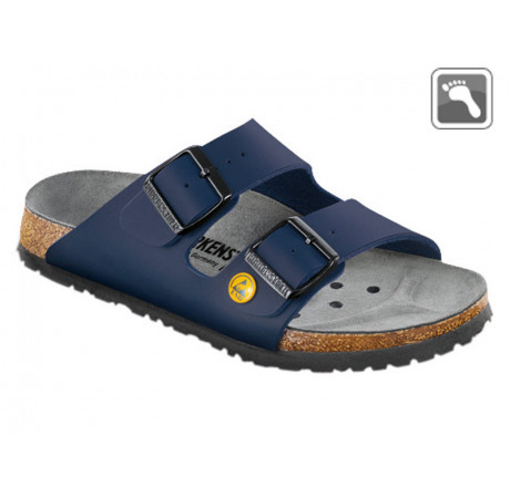 089430 Klein BIRKENSTOCK ESD ARIZONA Sandale normale Weite blau Größe 35 - 46