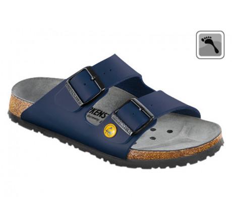 089438 Klein BIRKENSTOCK ESD ARIZONA Sandale schmale Weite blau Größe 35 - 46