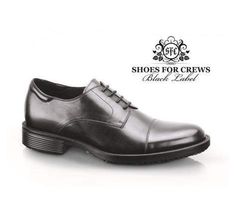"""1201 Shoes for Crews Herren-Schnürschuhe """"Senator"""", ohne Stahlkappe, schwarz, Größe 39-47"""