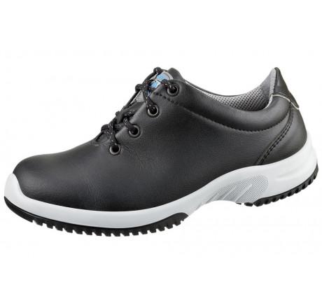 6781 ABEBA Schnürschuhe ohne Stahlkappe schwarz, A-micro®, Größe 35 - 48