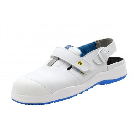 2.4004.01.34 SCHÜRR Aachen Arbeitsschuhe Sandale mit Alukappe ESD weiß S1 Größe 36 - 48