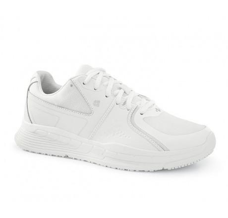 27041 Shoes for Crews Damen Schnürschuhe FALCON II ohne Schutzkappe weiß