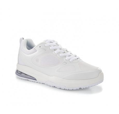 """28093 Shoes for Crews >Damen-Schnürschuhe """"Revolution II"""" ohne Stahlkappe weiss Größe 35 - 42"""