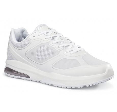 """28289 Shoes for Crews >Herren-Schnürschuhe """"Evolution II"""" ohne Stahlkappe weiss Größe 38 - 49"""