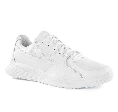 29166 Shoes for Crews Herren Schnürschuhe Condor ohne Schutzkappe weiß 01 Größe 39 - 49