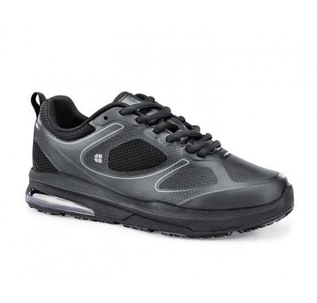 """29167 Shoes for Crews >Damen-Schnürschuhe """"Revolution II"""" ohne Stahlkappe schwarz Größe 35 - 42"""