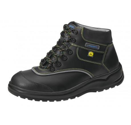 31853 ABEBA ESD LIGHT Stiefel schwarz mit Stahlkappe Leder Größe  35 - 48