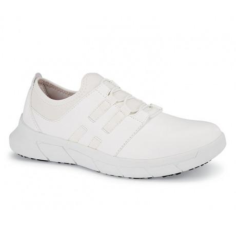 32709 Shoes for Crews >Damen-Schnürschuhe Karina ohne Stahlkappe weiß Größe 35 - 44