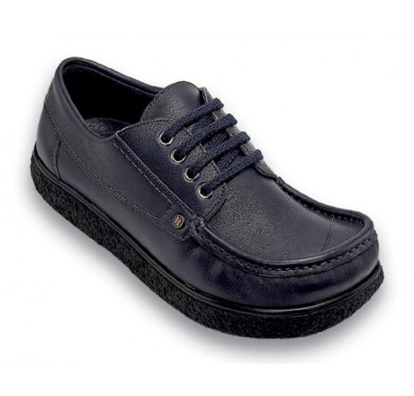 350-1 Jacoform Schuhe Leder blau Größe 2,5 - 15