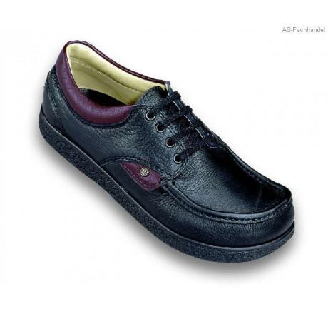 355-1 Jacoform Schuhe Leder schwarz Größe 4 - 12
