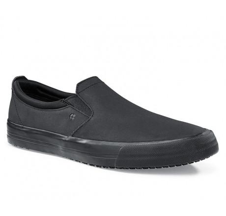 """36106 Shoes for Crews >Damen-Slipper """"Olli II"""" ohne Stahlkappe schwarz Größe 35 - 43"""