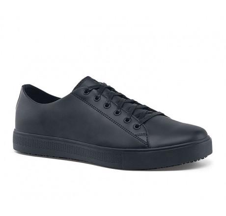 """36111 Shoes for Crews >Herren-Schnürschuhe """"Old School IV"""" ohne Schutzkappe schwarz  Größe 38 - 47"""