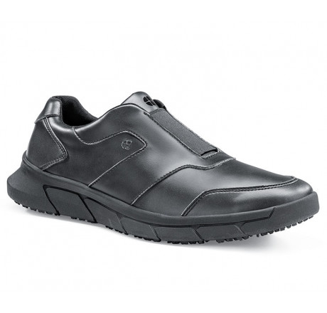 """36479 Shoes for Crews >Herren-Schnürschuh """"Grayson"""" ohne Stahlkappe schwarz Größe 38 - 48"""