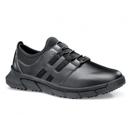36907 Shoes for Crews >Damen-Schnürschuhe Karina ohne Stahlkappe schwarz Größe 35 - 44