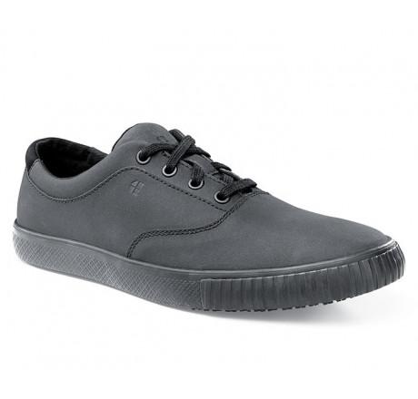 """38664 Shoes for Crews >Herren-Schnürschuh """"Carter"""" ohne Stahlkappe schwarz Größe 38 - 47"""