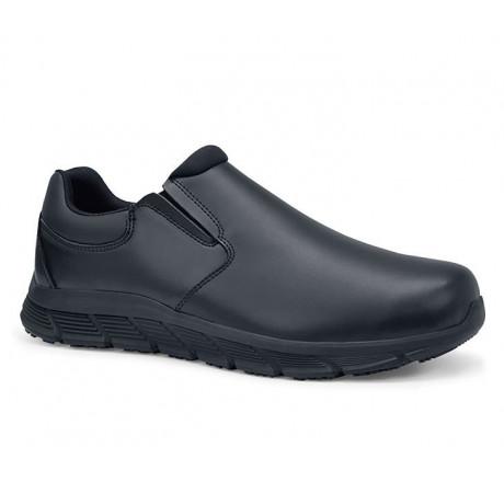 41439 Shoes for Crews Herren Slipper Cater II ohne Schutzkappe schwarz Größe 38 - 50