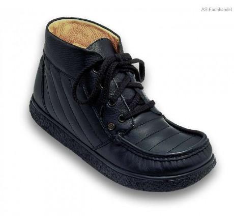 402 Jacoform Stiefel, Leder, schwarz, Größe 3 - 13