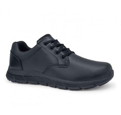 43261 Shoes for Crews Herren Schnürschuhe SALOON II ohne Schutzkappe schwarz Größe 38 - 50