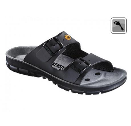 520848 BIRKENSTOCK ESD BILBAO Sandale schmale Weite schwarz Größe 36 - 42