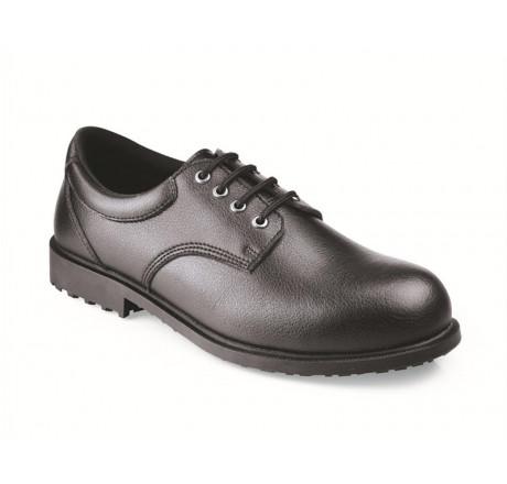 """5215 Shoes for Crews Herren-Schnürschuhe """"Cambridge II"""", mit Stahlkappe, schwarz, S2 Größe 40-47"""