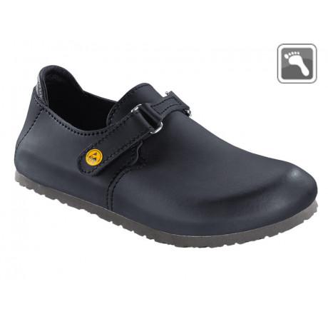 583160 BIRKENSTOCK ESD LINZ Sandale normale Weite schwarz Größe 39 - 46