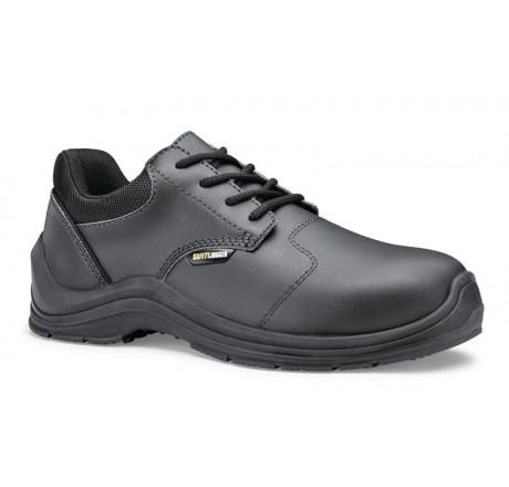 """74785 Shoes for Crews Schnürschuhe """"Roma81"""" Safety Jogger mit Schutzkappe schwarz S3 Größe 35 - 48"""