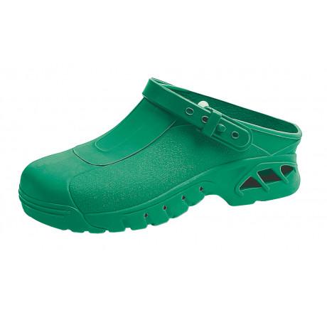 ABEBA OP Clogs 9620 Berufsschuhe Arbeitsschuhe autoklavierbar grün Größe 35/36 - 45/46