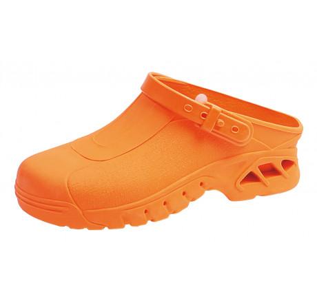 ABEBA OP Clogs9630 Berufsschuhe Arbeitsschuhe autoklavierbar orange Größe 35/36 - 45/46