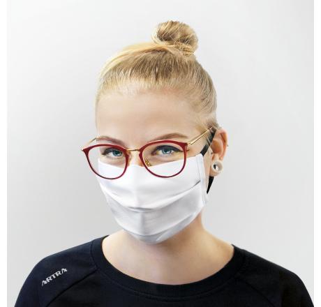 Mehrweg Mund- und Nasen Maske Baumwolle Unisex