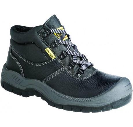Bestboy, Safety-Jogger, Sicherheitsstiefel, schwarz, S3 Größe 38 - 47