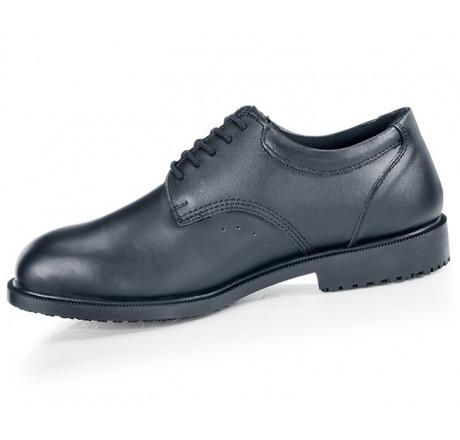 S2032 Shoes for Crews Herren Schnürschuhe Cambridge II ohne Stahlkappe schwarz 01 Größe 38-48