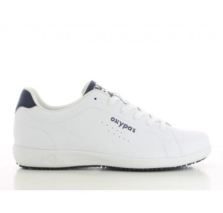 Evan-WHT OXYPAS Plegeschuhe Arbeitsschuhe Berufsschuhe ohne Schutzkappe Weiß Größe 39-46
