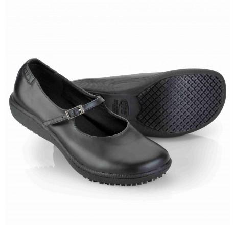 """3002 """"Mary Jane"""" Shoes for Crews Damen Schuh ohne Schutzkappe schwarz, 01 Größe 35 - 42"""