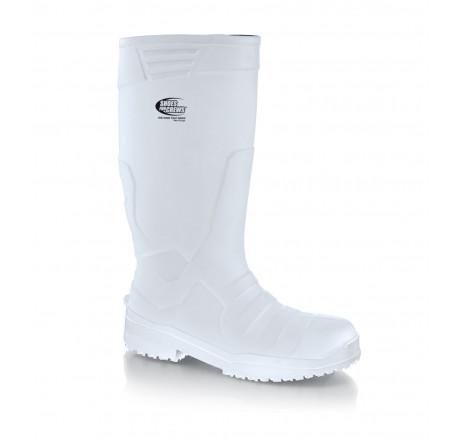 2010 Shoes for Crews Sentinel PU Sicherheitsstiefel weiß S4 Größe 36 - 47