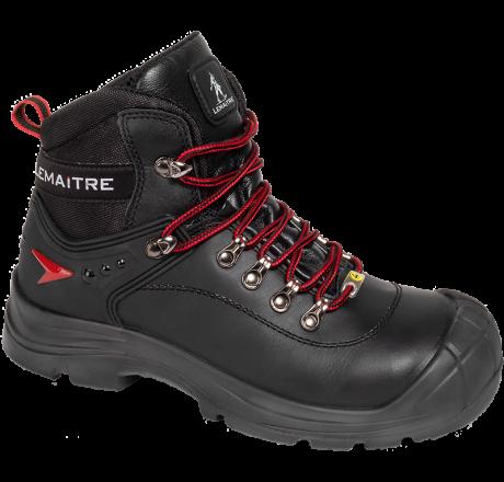 8056 Lemaitre SLOG BLACK S3 ESD L SRC GERMAX Sicherheitsstiefel mit Stahlkappe schwarz 38 - 49
