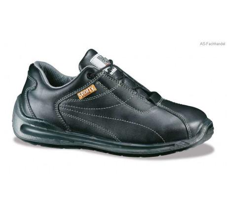 1220, Lemaitre, S2, Sporty Schnürschuhe, mit Stahlkappe, schwarz 35 - 48