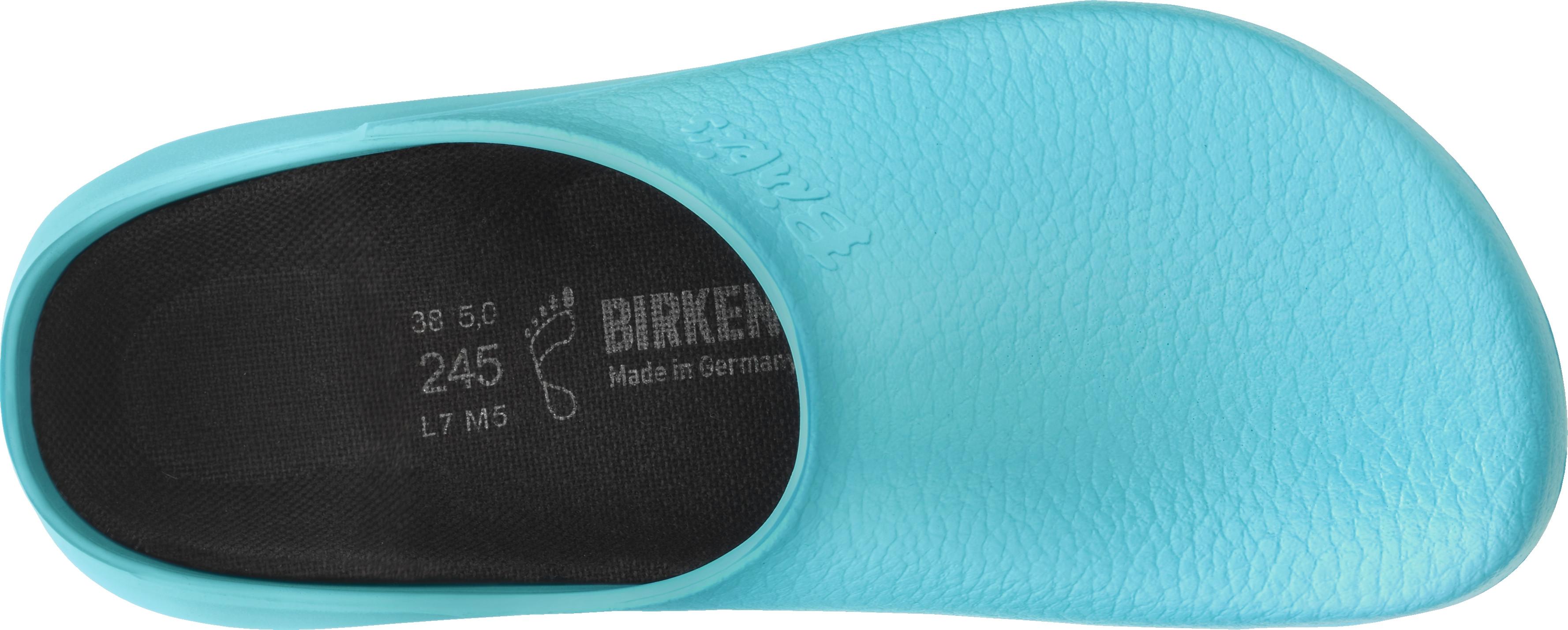 068501 BIRKENSTOCK Super Birki Clog normale Weite hellblau light blue Größe 35 43