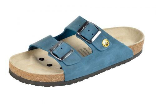 44111 3 weeger esd sandale arbeitsschuhe ohne stahlkappe blau nubukleder gr e 35 49. Black Bedroom Furniture Sets. Home Design Ideas