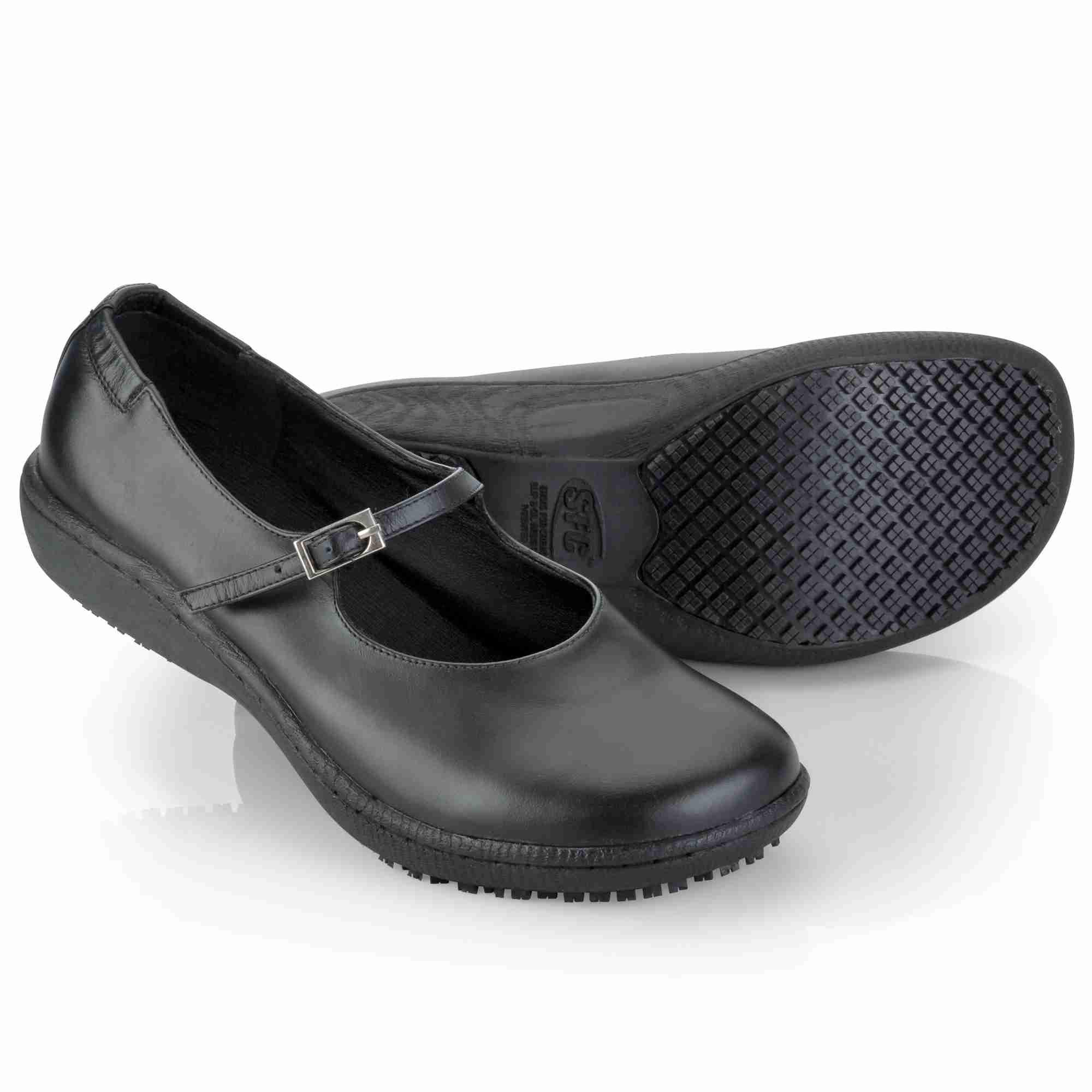 3002 shoes for crews mary jane sfc damen arbeitsschuhe serviceschuhe berufsschuh ebay. Black Bedroom Furniture Sets. Home Design Ideas