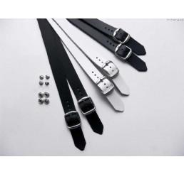 0150-900 BERKEMANN  Fersenriemen, zuschneidbar, schwarz, Größe 3 - 12