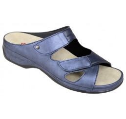 1027-371 Berkemann Berkoflex/Stretch Janna Sandale blau Größe 3 - 8,5