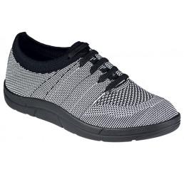 5450-997 Berkemann ComfortKnit Allegra Schuh schwarz/weiss Einzelpaar Sonderpreis sale Größe 4,5 - 8,5