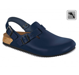 061156 Birkenstock Clog TOKIO Superlaufsohle schmale Weite blau Größe 35 - 46
