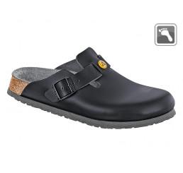 061360 BIRKENSTOCK ESD BOSTON Sandale normale Weite schwarz Größe 39 - 48